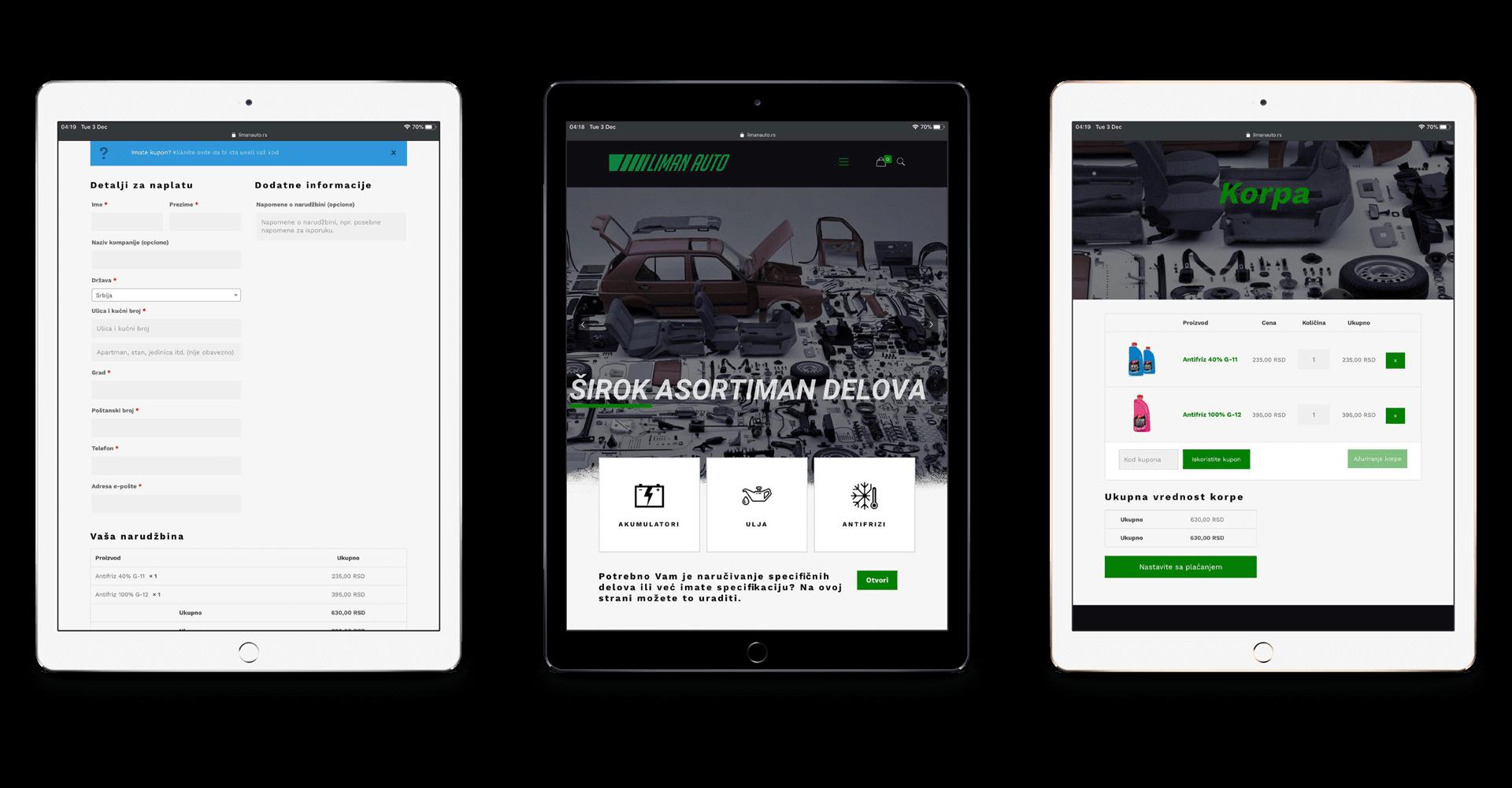 Liman Auto Web